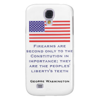 Firearms are second only to the Constitution in im Galaxy S4 Case