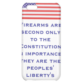 Firearms are second only to the Constitution in im iPhone 5C Covers