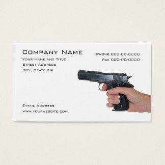 Firearms Dealer  Business Card