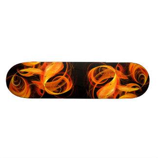 Fireball Abstract Art Skateboard