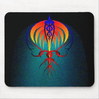 Fireball Comet mousepad