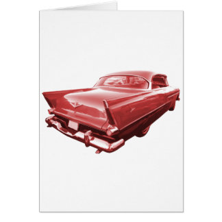 Fireball fury 1956 Plymouth tail fins Card