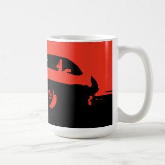 Firebird, 1969 - Red on dark bkgd mug