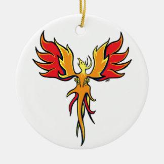 Firebird Ceramic Ornament