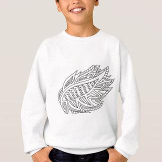 FireBird Coloring DIY Doodle Sweatshirt