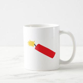 Firecracker cartoon, TNT, dynamite Coffee Mug