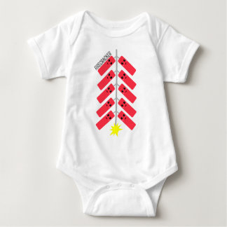 Firecracker Friends Cuddle Ready Baby Bodysuit