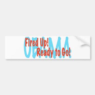Fired Up Bumper Sticker