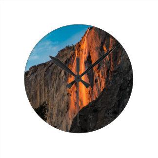 Firefall Round Clock