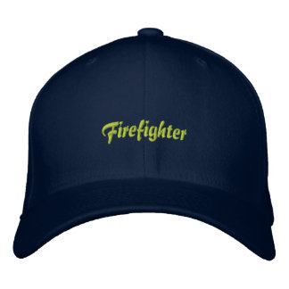 Firefighter-Asst. Chief Embroidered Hat