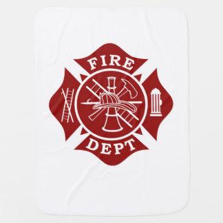 Firefighter Baby Blanket
