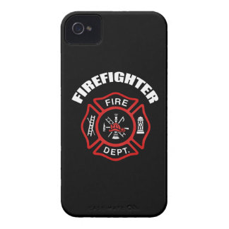 Firefighter Badge iPhone 4 Cases