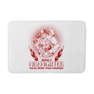 Firefighter Bath Mat