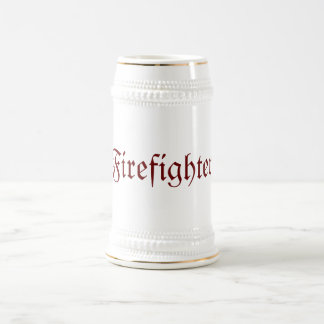 Firefighter Beer Stein