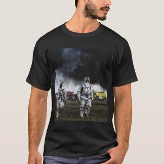 Firefighter Black Men's T-Shirt