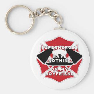 Firefighter boyfriend) keychain