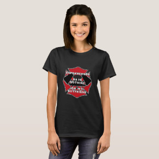 Firefighter boyfriend tee