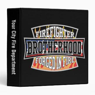 Firefighter Brotherhood Vinyl Binders