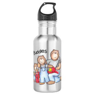 Firefighter Buddies! 532 Ml Water Bottle