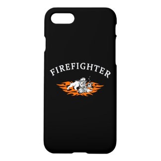 Firefighter Bull Dog Tough iPhone 7 Case