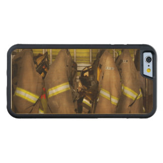 Firefighter - Bunker Gear Carved Maple iPhone 6 Bumper Case