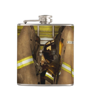 Firefighter - Bunker Gear Hip Flask