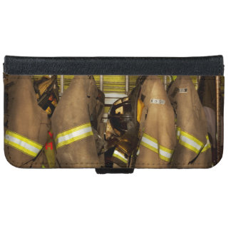 Firefighter - Bunker Gear iPhone 6 Wallet Case