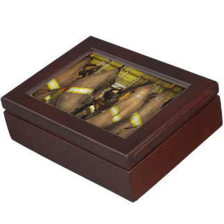 Firefighter - Bunker Gear Keepsake Box