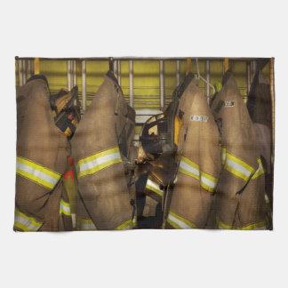 Firefighter - Bunker Gear Kitchen Towel