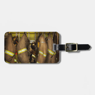 Firefighter - Bunker Gear Luggage Tag
