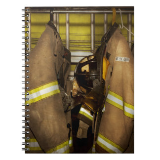 Firefighter - Bunker Gear Notebook