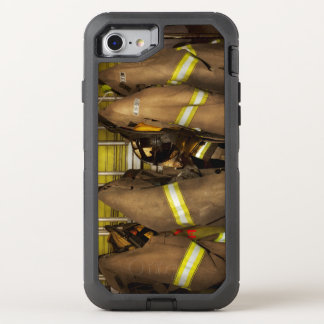Firefighter - Bunker Gear OtterBox Defender iPhone 8/7 Case