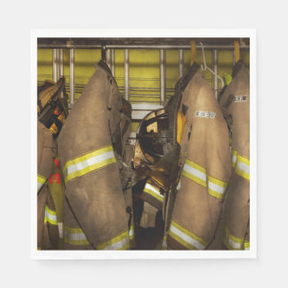 Firefighter - Bunker Gear Paper Napkins