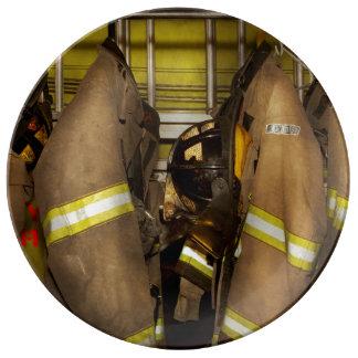 Firefighter - Bunker Gear Plate