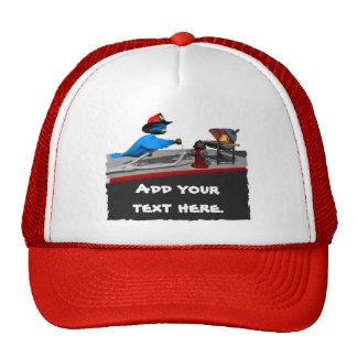 Firefighter Cap Mesh Hats