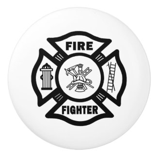 Firefighter Ceramic Knob