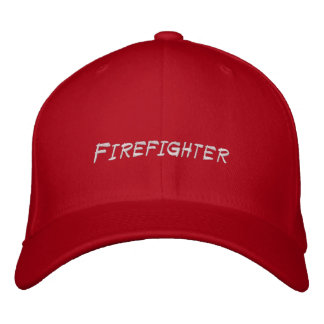 Firefighter Chief Hat Embroidered Embroidered Baseball Caps
