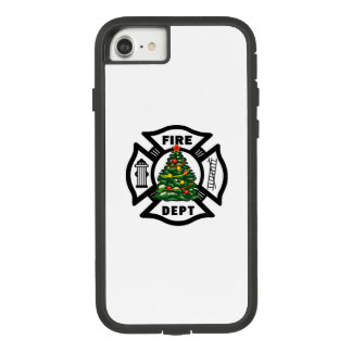 Firefighter Christmas Case-Mate Tough Extreme iPhone 8/7 Case