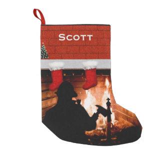 Firefighter Christmas Small Christmas Stocking