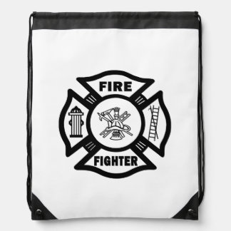 Firefighter Cinch Bag