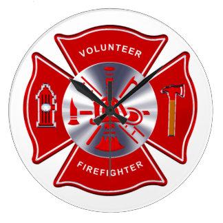 Firefighter Clock - Volunteer