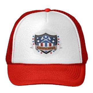 Firefighter Crest Mesh Hat