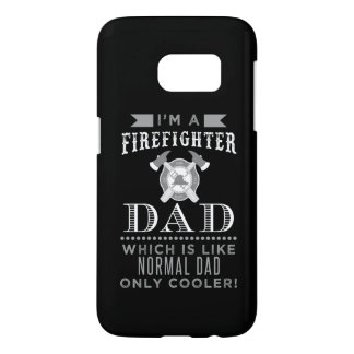 Firefighter Dad, Cool Dad Cellphone Case