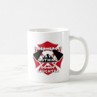Firefighter daughter coffee mug