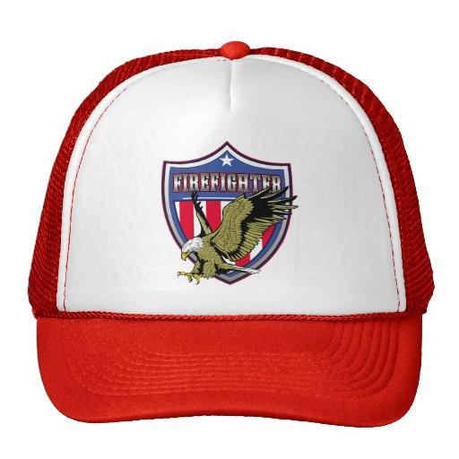 Firefighter Eagle Shield Hats