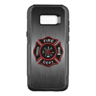 Firefighter Emblem Red OtterBox Commuter Samsung Galaxy S8+ Case