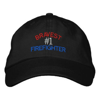 Firefighter Embroidered Hats