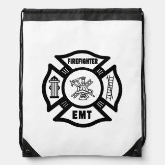 Firefighter EMT Cinch Bag