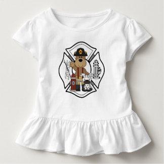 Firefighter Fire Dept Bear T Shirts