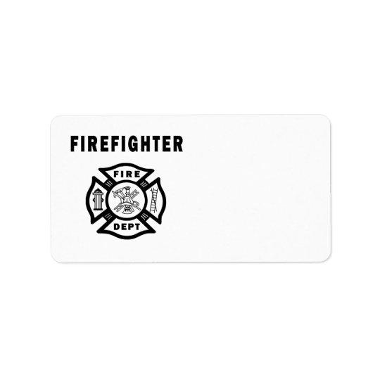 Firefighter Fire Dept Logo